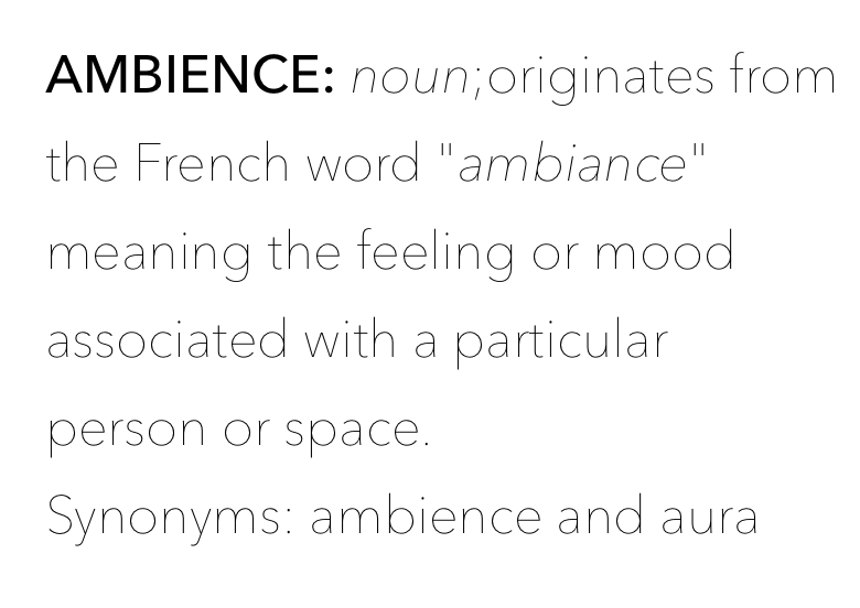 ambience-definition