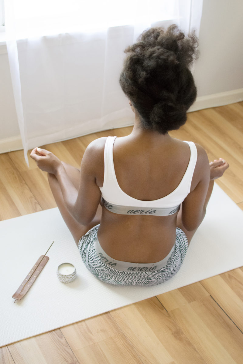 Easy Seated Pose - Yoga
