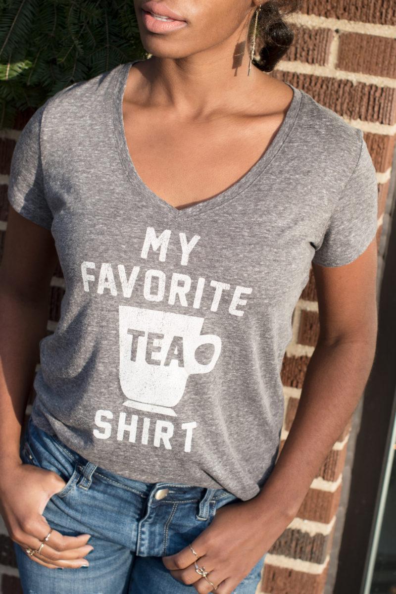 my favorite tea shirt